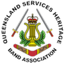 Logo for Queensland Services Heritage Band Association
