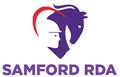 Logo for Samford Riding for the Disabled Association (RDA)