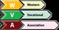 Logo for Western Vocational Association Inc