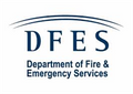 Logo for Department of Fire and Emergency Services (DFES)