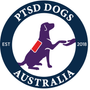 Logo for PTSD Dogs Australia LTD