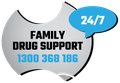 Logo for Family Drug Support