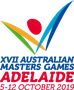 Logo for Australian Masters Games (SA)