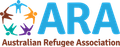 Logo for Australian Refugee Association (ARA)