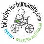 Logo for Bicycles for Humanity (Swan)