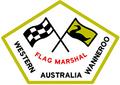 Logo for Wanneroo Flag Marshal Association