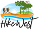 Logo for Hikewest (previously 'Bushwalking WA'/Federation of WA Bushwalkers)