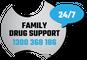 Logo for Family Drug Support