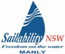 Logo for Sailability Manly