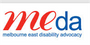 Logo for Melbourne East Disability Advocacy