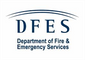 Logo for Department of Fire & Emergency Services (DFES)